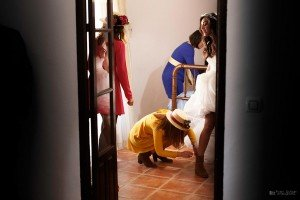 Fotógrafo de Bodas en Valencia | En casa de la novia