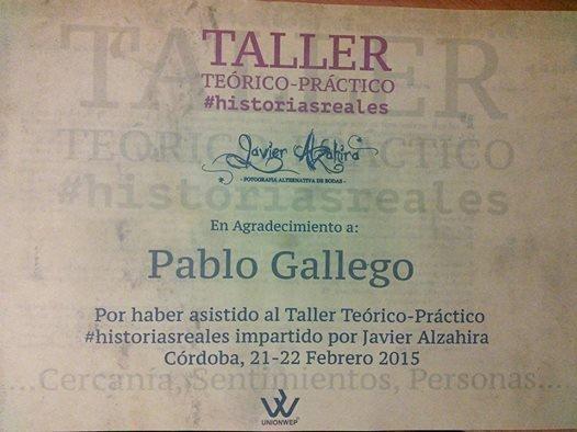 Taller de Bodas, Javier Alzahira