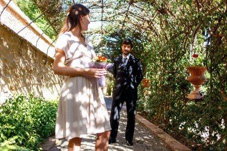 Los novios - Jardines de Monforte Valencia