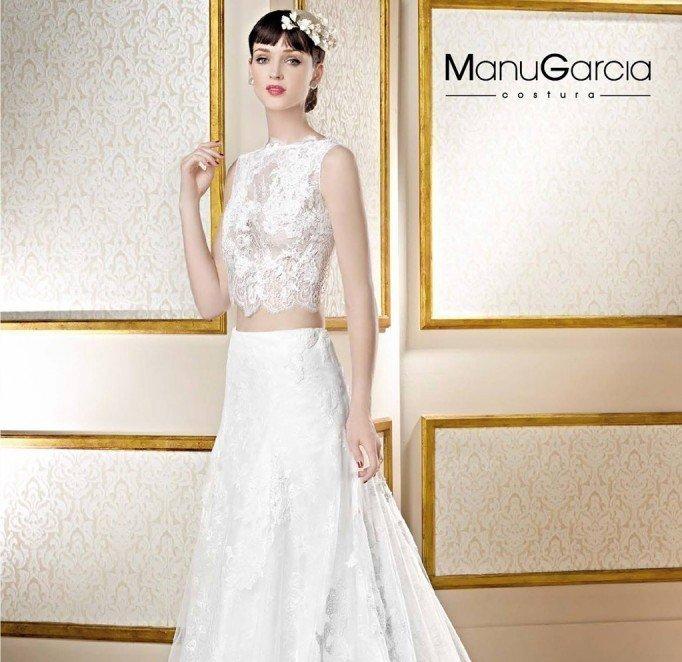 Colección de Vestidos de Novia 2017 de Manu García