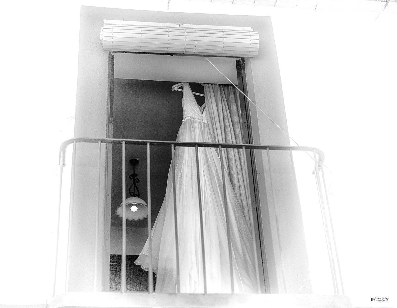Vestido Novia Pablo Gallego Fotografia