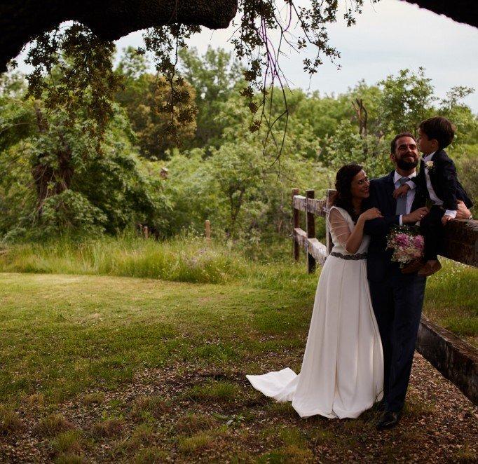 Carlos & Laura: Wedding Report in Finca Campillo de Yegüas, Madrid