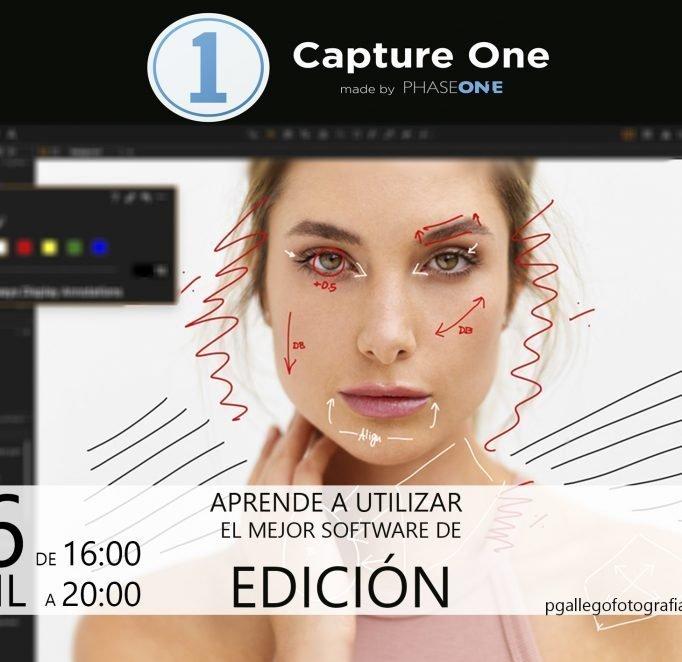 CURSO EDICIÓN FOTOGRÁFICA CAPTURE ONE en VALENCIA, ABRIL 2018